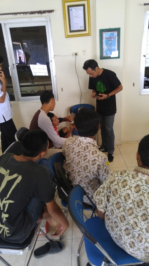 BNNP JATIM 2 pelatihan service handphone PTCINDONESIA 4